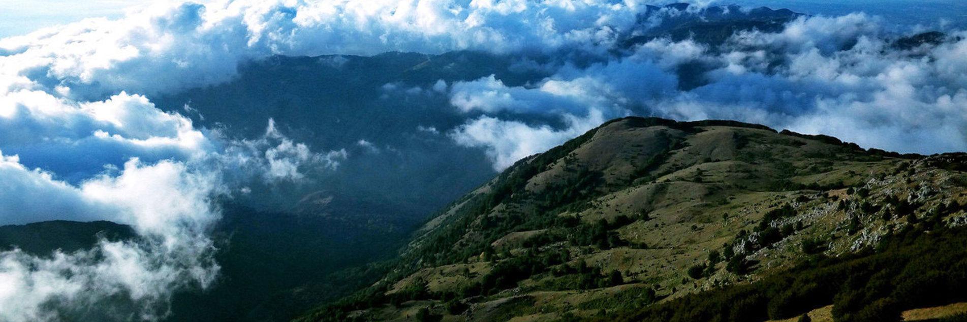 Campeggio su Monte Cocuzzo