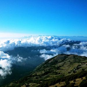 Panorama dalla cima di Monte Cocuzzo