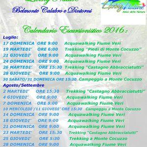 Calendario Escursionistico 2016
