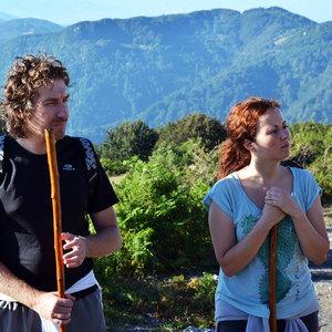 Ragazzi su Monte Cocuzzo
